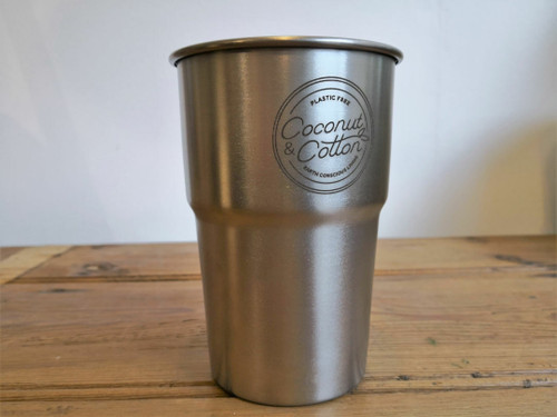Recycled Stainless steel Pint cup