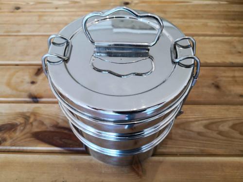 Stainless steel tiffin 3 tier
