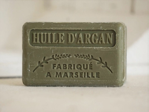 Argan oil french Marseille soap 125g