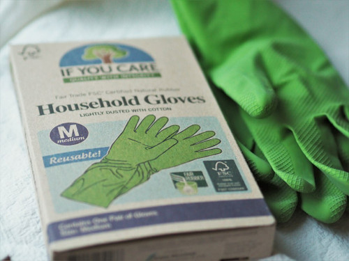If You Care Rubber Household Gloves - Medium