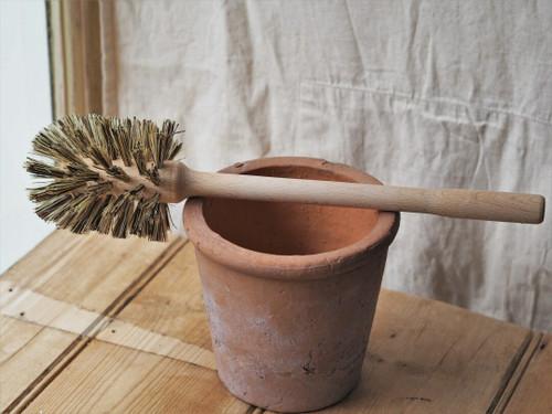 Very firm wooden Toilet/pot Brush