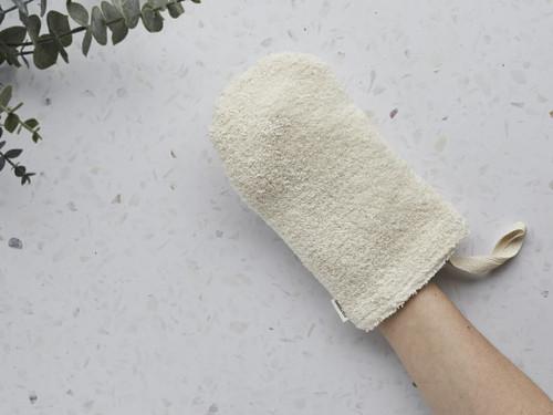 Organic Cotton Double Sided Shower Mitt
