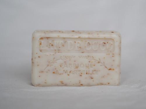 Lait de Coco exfoliating French Marseille soap 125g
