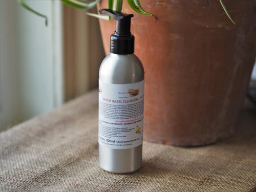 Witch Hazel face wash Aluminium pump bottle