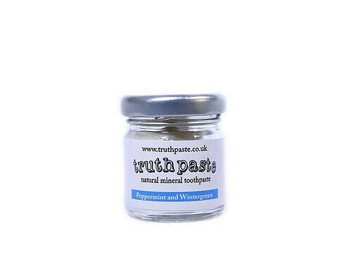 OLD FORMULA Truthpaste Peppermint & Wintergreen mineral toothpaste