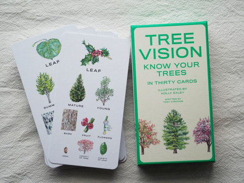 Tree Vision: Know Your Trees Picture Flashcard Set