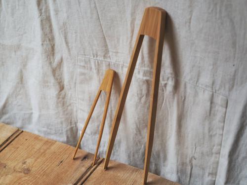 Large Organic Bamboo tongs