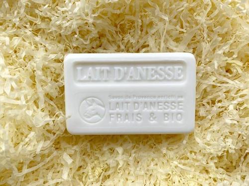 Organic Donkey Milk french Marseille soap 100g