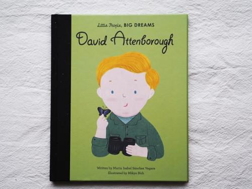 Little People Big Dreams David Attenborough Book