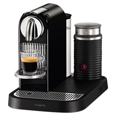 Magimix Nespresso Citiz & Milk Coffee Machine in Black