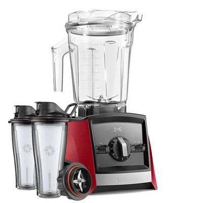 Vitamix Ascent 2300i Series Blender In Red with600ml Blending Cup Starter Kit