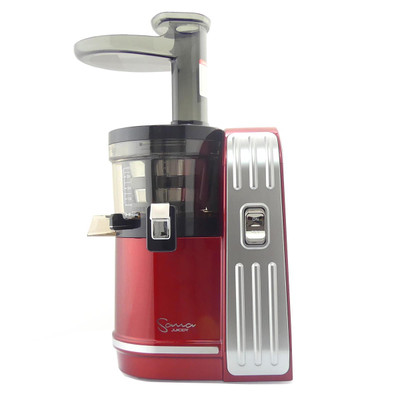 Sana EUJ-828 Vertical Slow Juicer in Red