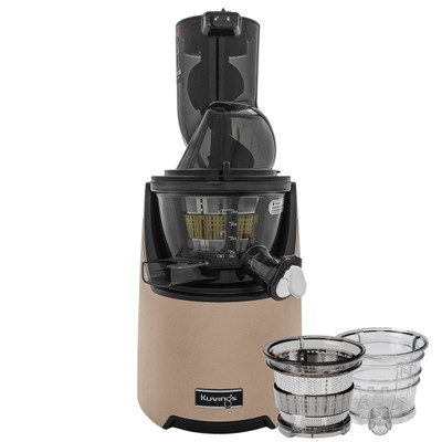 Kuvings EVO820 Wide Feed Juicer in Champagne Gold with Accessory Pack