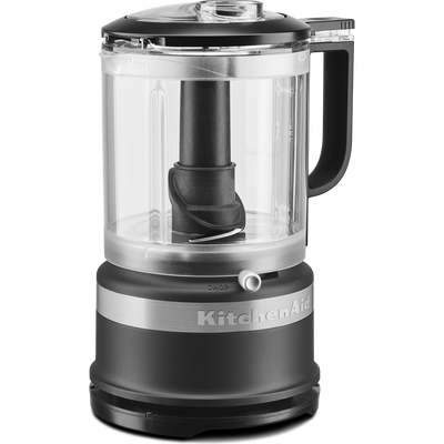 KitchenAid 1.2L Food Processor in Matte Black