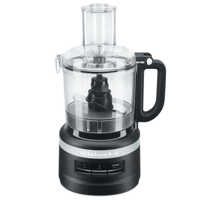 KitchenAid 1.7L Food Processor in Matte Black