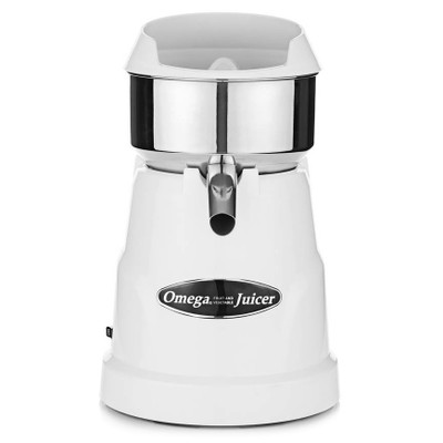 Omega C10W Citrus Juicer in White