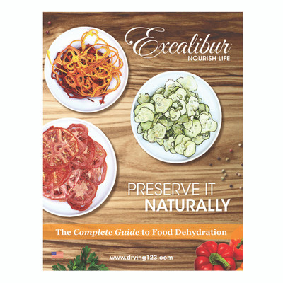 Excalibur Preserve it Naturally Dehydrator Book