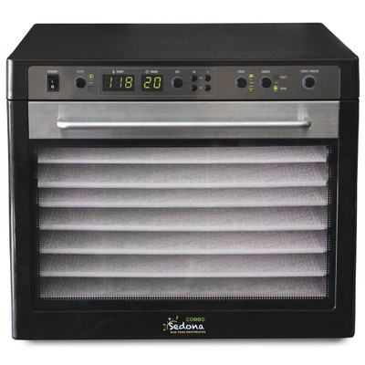 Tribest Sedona Combo 9-Tray Dehydrator in Black
