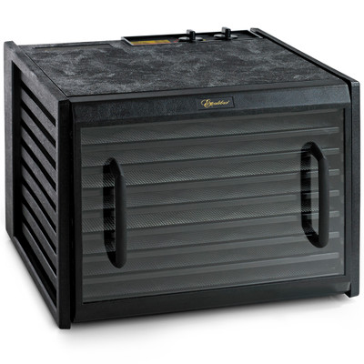 Excalibur 9-Tray Dehydrator with 26hr Timer & Clear Door in Black