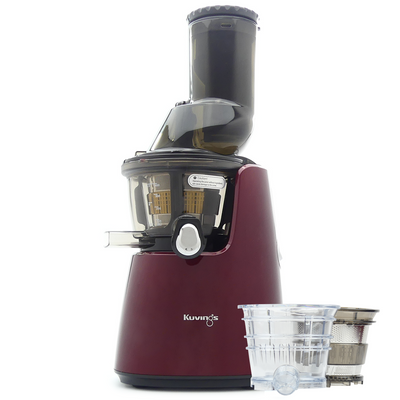 Kuvings Whole Fruit Juicer C9500 in Red Plus Accessory Pack