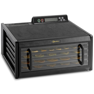 Excalibur 5-Tray Dehydrator with Digital Controller in Black
