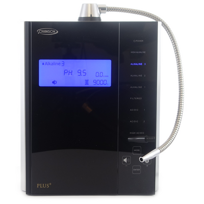 Chanson Miracle Max Plus Water Ioniser in Black