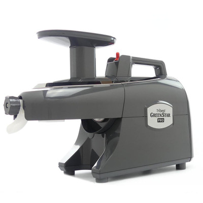 Green Star Pro Commercial Twin Gear Juicer in Grey