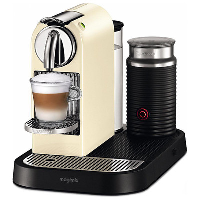 Magimix Nespresso Citiz & Milk Coffee Machine in Cream