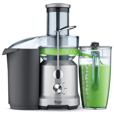Sage the Nutri Juicer Cold Centrifugal Juicer BJE430SIL in Stainless Steel