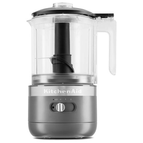 KitchenAid 1.2-Litre Cordless Food Processor 5KFCB519BDG in Charcoal Grey