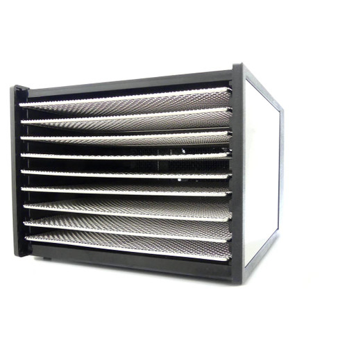 Excalibur Stainless Steel 9 Tray Dehydrator with 26hr Timer Model D902SHD