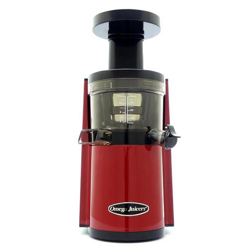 Omega VERT VSJ843RR Slow Juicer in Red