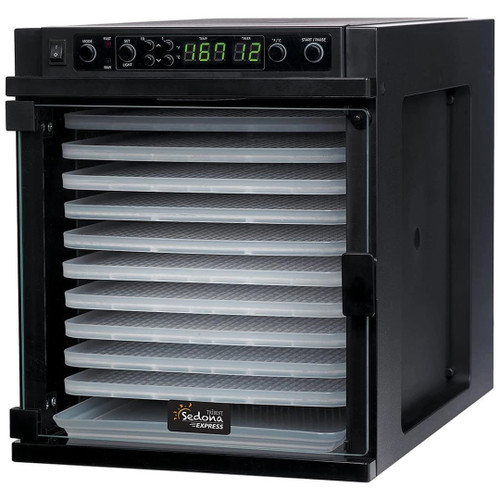 Tribest Sedona Express 11-Tray Dehydrator in Black
