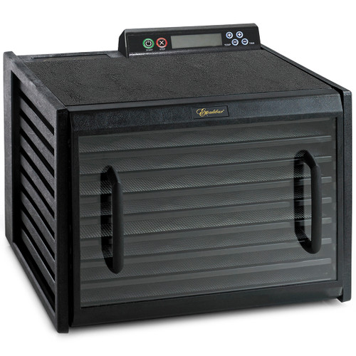 Excalibur 9-Tray Dehydrator with Digital Controller in Black