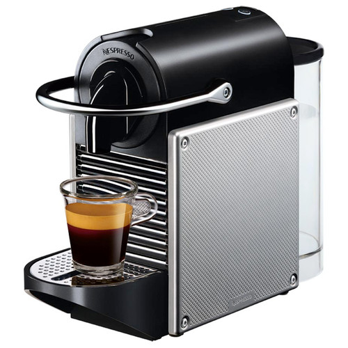 Magimix Nespresso Pixie Coffee Machine in Silver