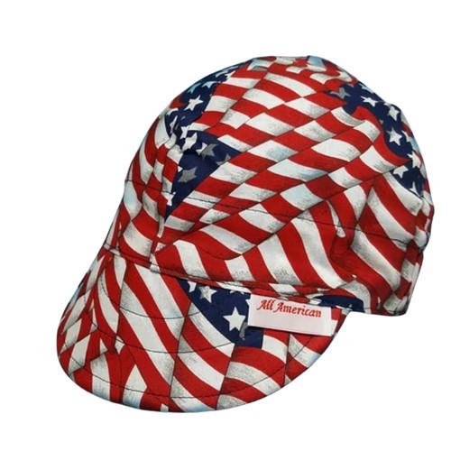 American Pride Welding Cap