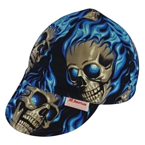 All American Hats Burn Through Welding Cap Hat