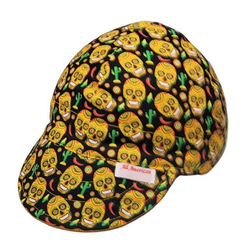 All American Hats Desert Skulls Welding Cap Hat