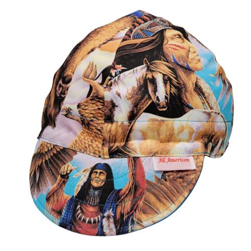 Navajo Indian Tribe Biker Cap
