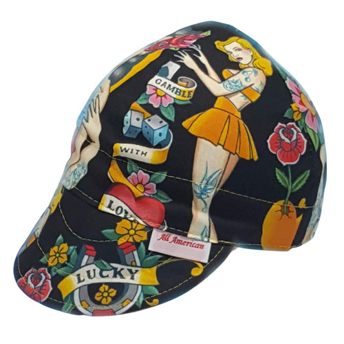 All American Hats Don't Gamble With Love Welding Cap Hat