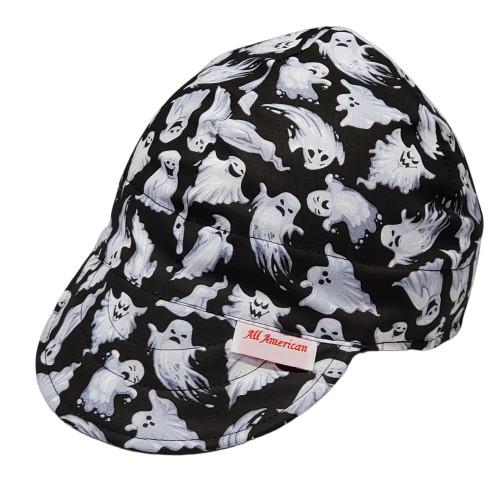 All American Hats Boo Biker Cap Hat