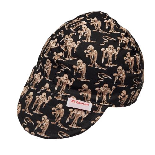 All American Hats The Mummy Biker Cap Hat