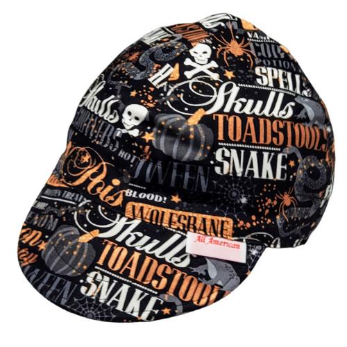 All American Hats Hocus Pocus Biker Cap Hat