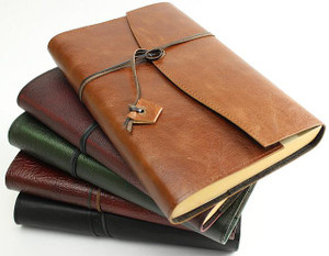 Handcrafted leather book wraps made in Australia by a book lover.  The original design now in its 12th year and still a favourite.