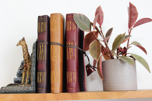 Custom A5 Leather Journal - Create your own designer journal!