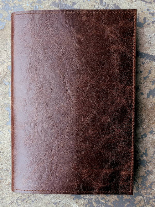 Sleeve Style leather cover in Oak