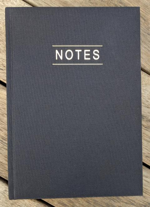 Lined notebook in A5 size.  Ideal for bundling with handmade notebook covers.
