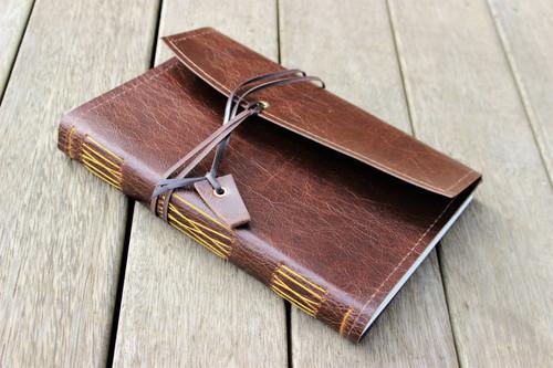 Crowd favourite Antique Oak A5 journal
