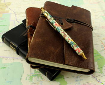 Leather Travel Journals Pocket Sized 3