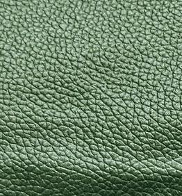 Leather British Green